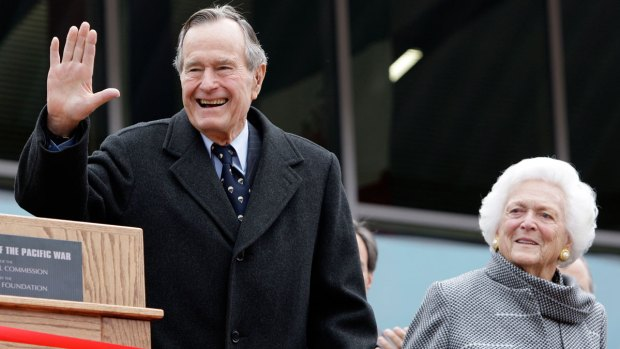 [DFW] George H.W. Bush Recovering; Barbara '1,000 Percent Better'