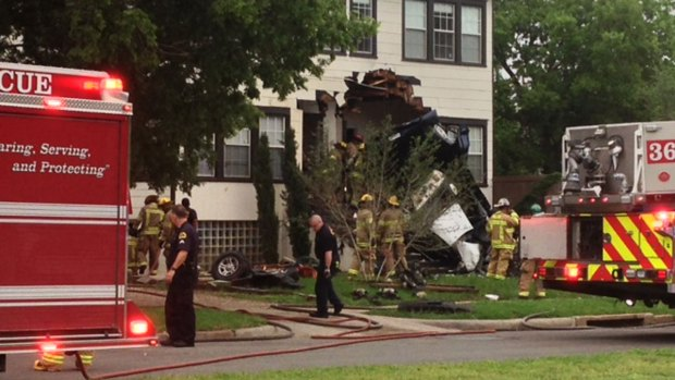 3 Killed After SUV Crashes Into House