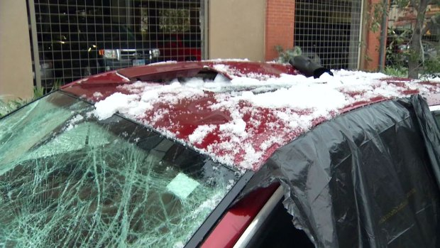 [DFW] Concern Grows as Thawing Ice Falls