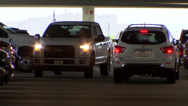 [DFW] Hail Threat Sends Many North Texans Scrambling to Find Cover for Cars