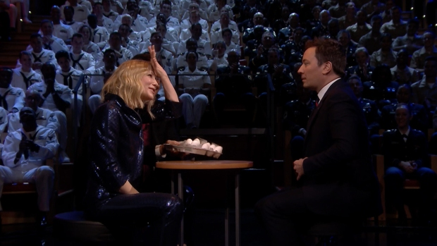 [NATL] 'Tonight': Egg Russian Roulette With Cate Blanchett
