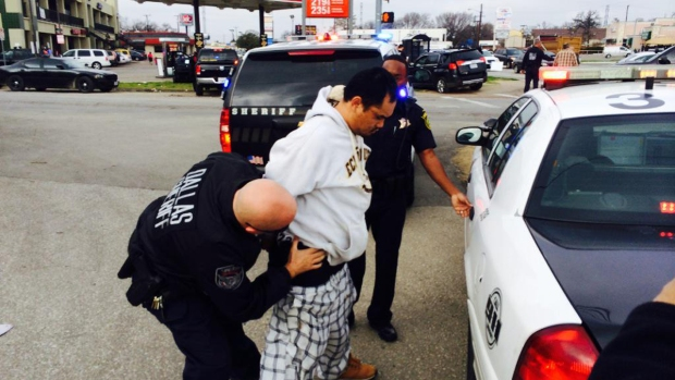 [DFW] Dallas County Chase End in Crash, Arrests
