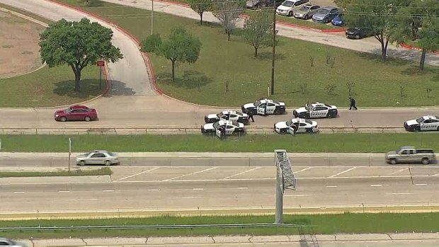 Chase Turns Into Standoff at Southwest Center Mall