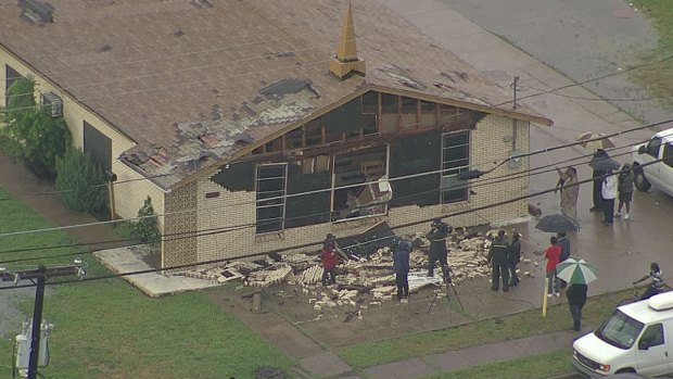 [DFW] Dallas Church Damaged by Storm