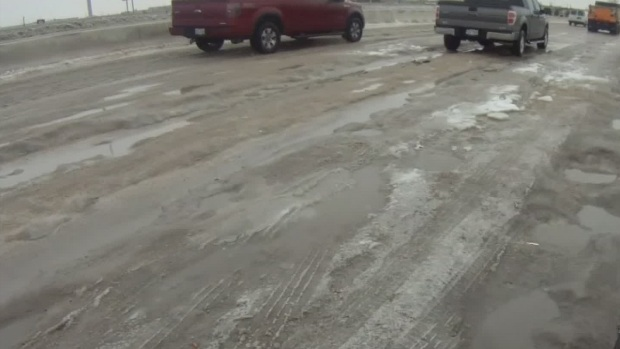 [DFW] Task Force Works to Clear Cobblestone Ice