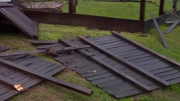 Little Elm Homes Damaged by Storms