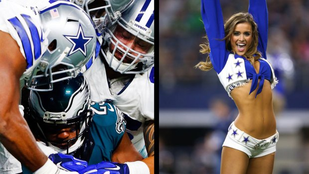 From the Sideline: Cowboys vs Eagles