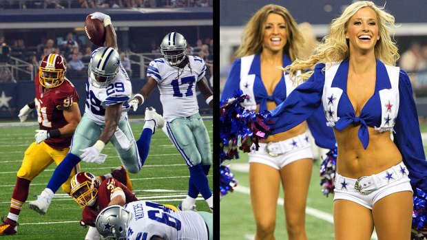 Images From The Sidelines: Cowboys 31, Redskins 16