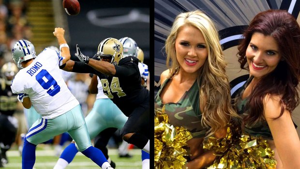 Images from the Sideline: Saints 49, Cowboys 17