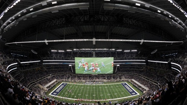 With Valley Ranch Under Ice, Practice Moved To Cowboys Stadium