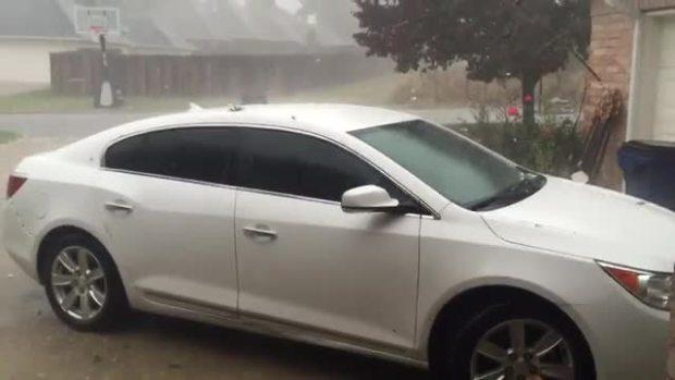 Hail In Decatur