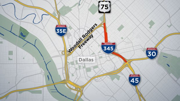[DFW] TxDOT Holds Public Meetings on Future of I-345 in Downtown Dallas