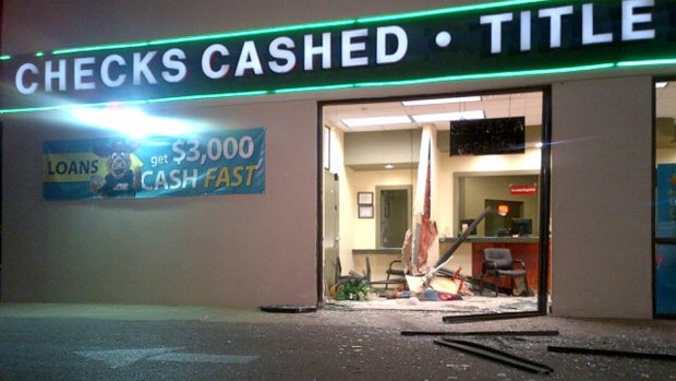 [DFW] ATM Thieves Smash Stolen Truck Into Check Cashing Business