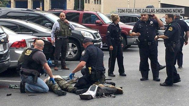 DMN Photographer Recounts Downtown Shooting