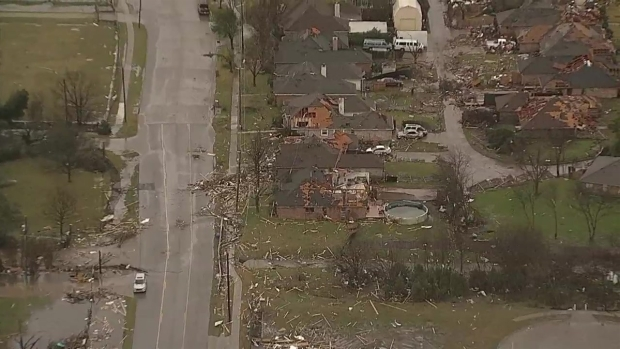 Red Cross Opens Shelter for Garland Residents