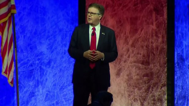 Dan Patrick at Texas GOP Convention