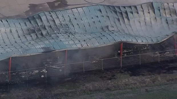 [DFW] Fire at Boat, RV Storage Facility in The Colony