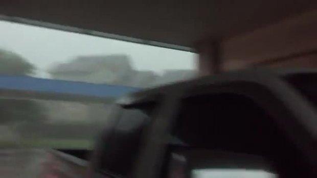 Burleson Alsbury and i35 weather video