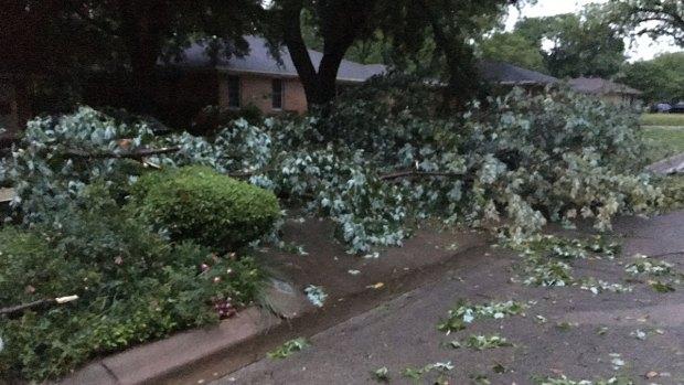National Weather Service Confirms Denton Tornado