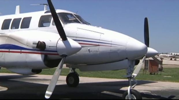 [DFW] Weather Cooperates for Denton Co. Aerial Spraying