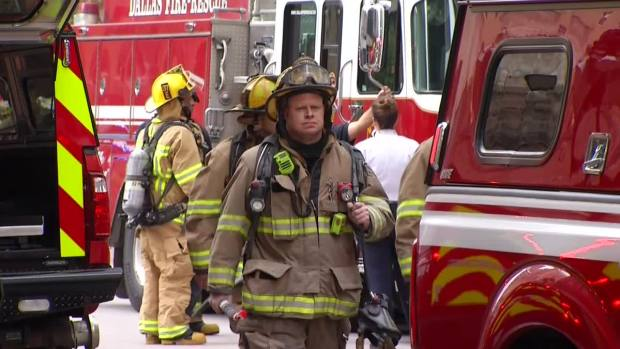 Fire Reported at Dallas' Thanksgiving Tower