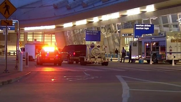 [DFW] Vehicle Sparks Security Scare At DFW
