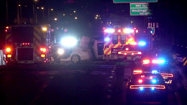 Deadly Wrong-Way Crash Closes DNT Overnight