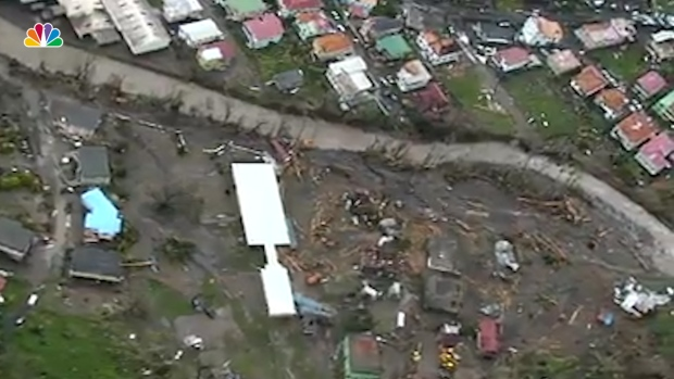 [NATL] Aerial Footage Show Hurricane Maria's Wrath on Dominica