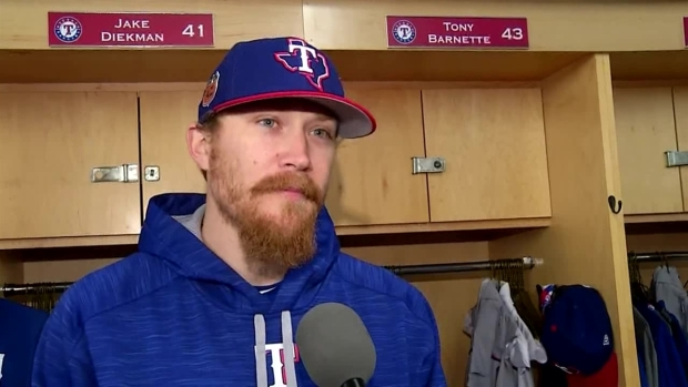 Rangers Diekman Finds Peace with Teammates While Battling Colitis