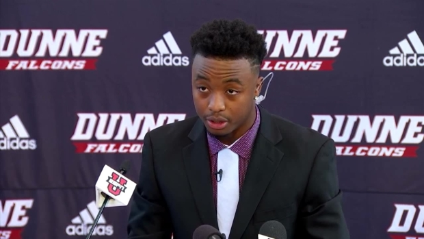 Bishop Dunne CB Announces College Commitment