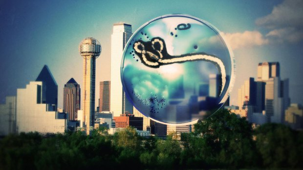 [DFW] City, County Leaders Update Ebola Case