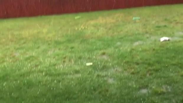 Hail in Anna Tx