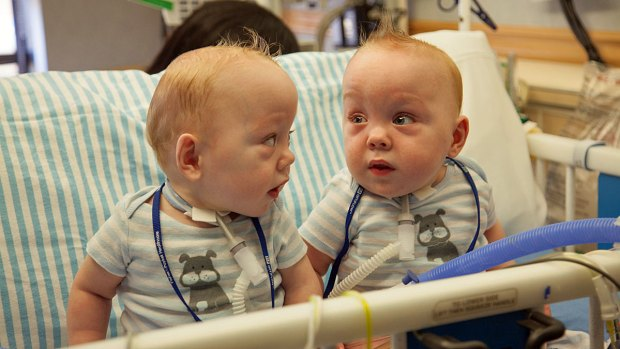 [DFW] Ezell Twins Leave Hospital Wednesday