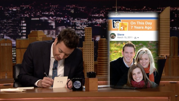 [NATL] 'Tonight': Thank You Notes to Facebook Memories, Hammers