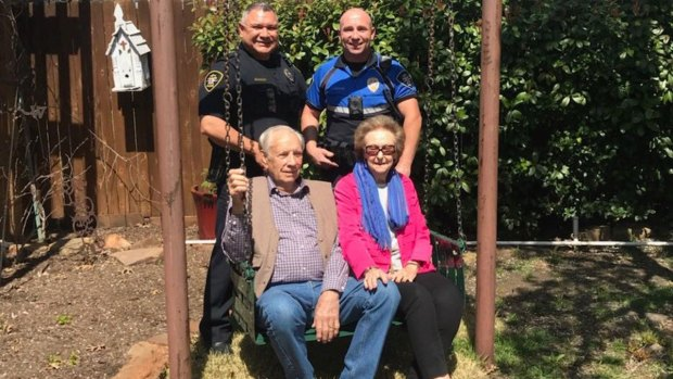 NRH Police Find 100-Year-Old Stolen Swing, Family Heirloom