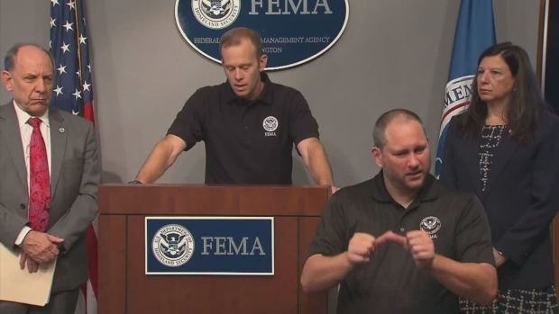 [NATL-DFW] FEMA Leaders Discuss Harvey Situation, Relief Monday Morning