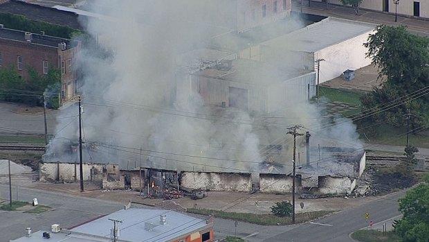 [DFW] Athens Fire Officials: 'Fire Suspicious'