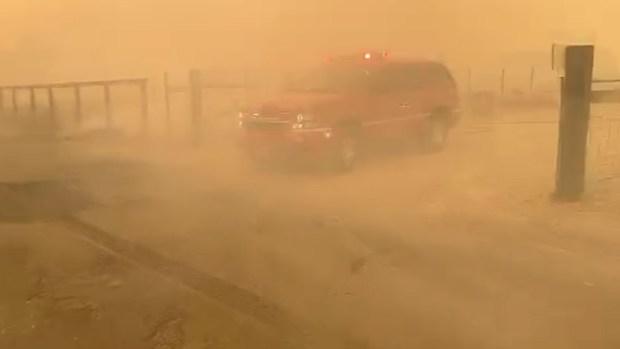 [NATL] Kincade Fire Spreads as Winds Return