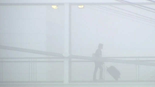 Dense Fog Delays, Reroutes Flights