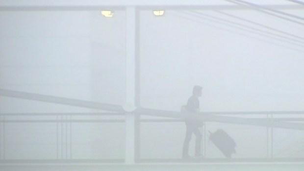 Dense Fog Delays, Reroutes Flights