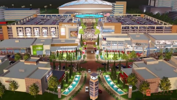 [DFW] Architects' Vision for Frisco Dallas Cowboys Development
