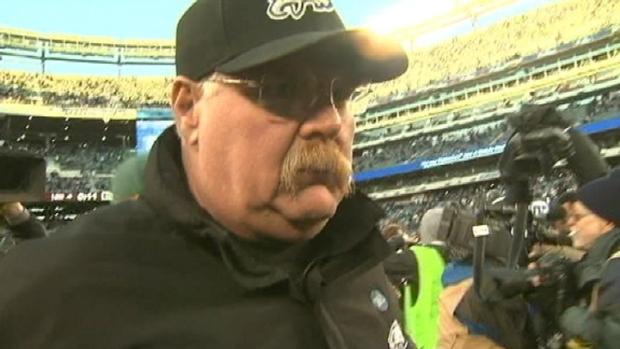 Eagles Fire Head Coach Andy Reid