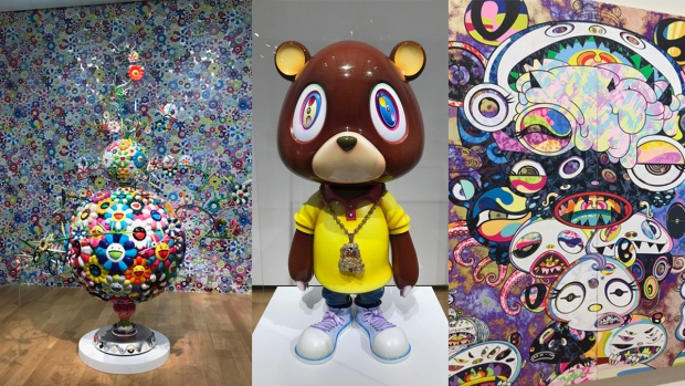 Photos: Murakami's Bold and Colorful FW Art Exhibit<br />