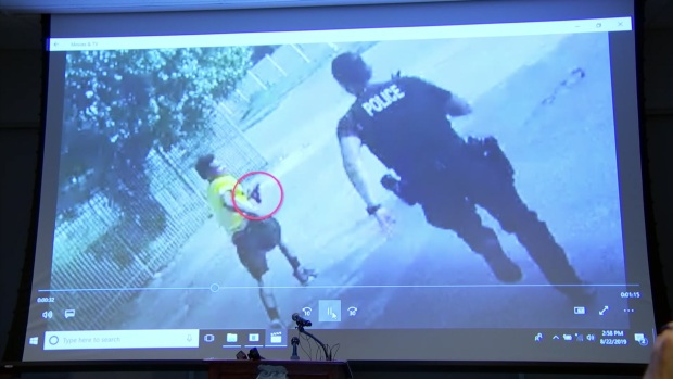 [DFW] Fort Worth Police Release Body Camera Video of Shooting Incident