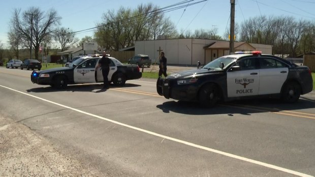 Suspect in FW Police Shootout Had Lengthy Record