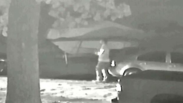 [DFW] Raw Video: Garland Police Release Surveillance Video of Possible Murder Suspects