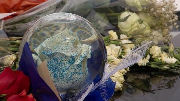 Memorial Growing for Fallen Fort Worth Officer