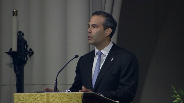 George P Bush Delivers Moving Tribute to George H.W. Bush