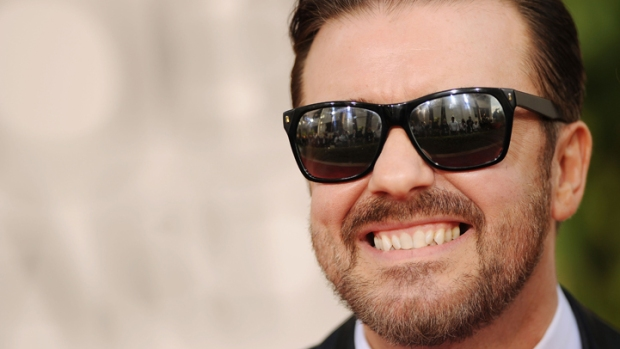 Ricky Gervais Back as Golden Globes Host