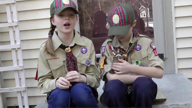 [NATL] Thousands of Girl Scouts Become Cub Scouts
